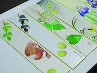 【리바카르킷즈】일본화 이로하 공장 「일본화로 그리는 24 절기」~입추~