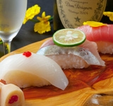 Sushi and wine SHUN'NA [fort of Hakata]